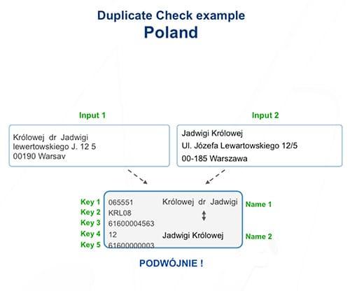 Deduplikacja danych i deduplikacja adresy
